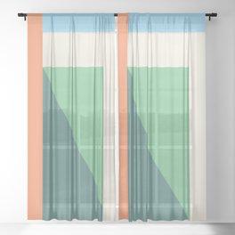 Shadow Over Sheer Curtain
