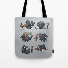 How Not to Train Your Dragon Tote Bag