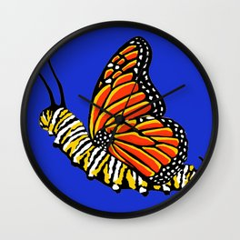 Caterfly Wall Clock