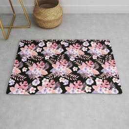 The Heritage Beautiful Flower Rug