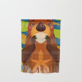 Otter Wall Hanging