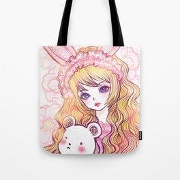 bunbunjii goldhair *GirlsCollection* Tote Bag
