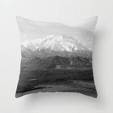 Mt McKinley Throw Pillow