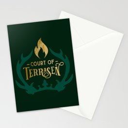 Court of Terrasen Book Quote Stationery Cards