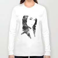 poetry Long Sleeve T-shirts featuring POETRY by Andrea De Amicis aka CONETTO
