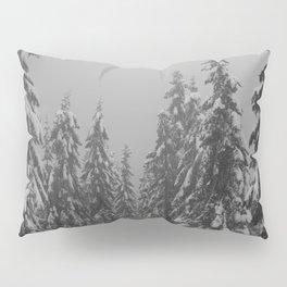 Snow Trees Pillow Sham
