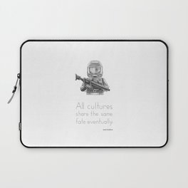The Future - All Cultures Share the Same Fate Eventually Laptop Sleeve