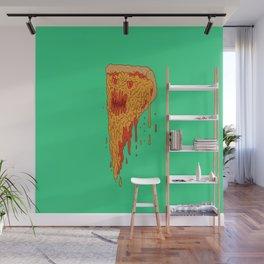 Evil Pizza Wall Mural