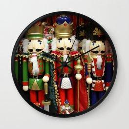 Nutcracker Soldiers Wall Clock