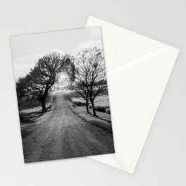 Best Farm Tree Backlit In The Fall Stationery Cards
