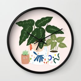 Potted Wall Clock