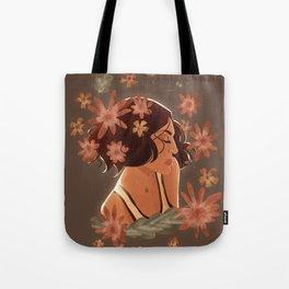 roni + flowers Tote Bag