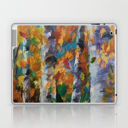Birch trees - 1 Laptop & iPad Skin