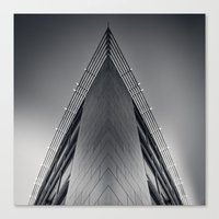 triangle Canvas Prints featuring triAngle by Dirk Wuestenhagen Imagery