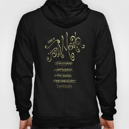 Foul Mouth Friday Hoody