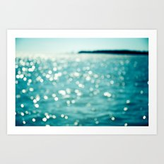 Sea Sparkle Art Print