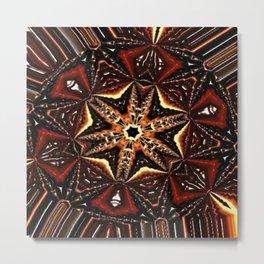 Darkstar Burst Metal Print