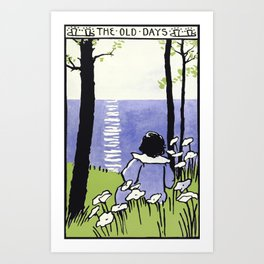 The Old Days Art Print