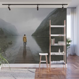Mountain Lake Vibes - Landscape Photography Wall Mural