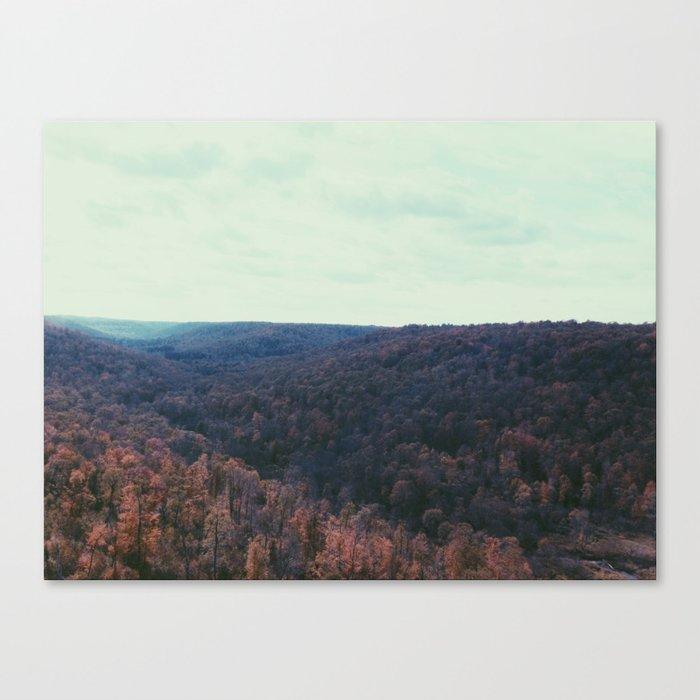 Kinzua Valley Canvas Print