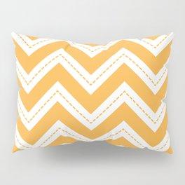 Yellow Chevron Pillow Sham