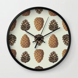 Pinecones! Wall Clock