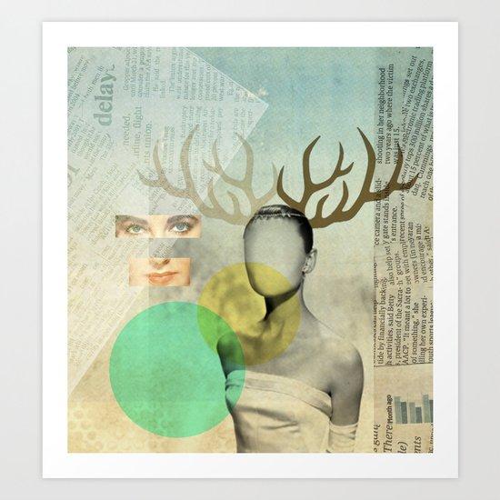 Audreys Virtue Art Print