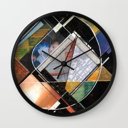 Mapping Moments 006 (Thoughts on Constructivism) Wall Clock