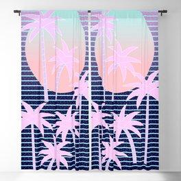 Hello Miami Moonlight Blackout Curtain