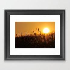 Apollo Sunset Framed Art Print