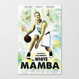 The White Mamba I Canvas Print