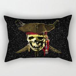 The Dark Eyes Of Pirates Rectangular Pillow