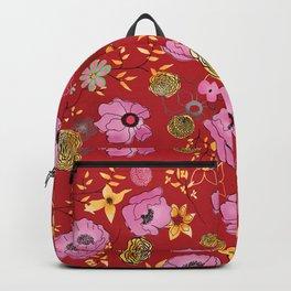 Aurora Larger Floral print Backpack