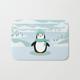 AFE Winter Penguin Bath Mat