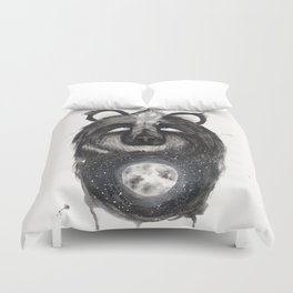 Selene the Moon Bear. Duvet Cover