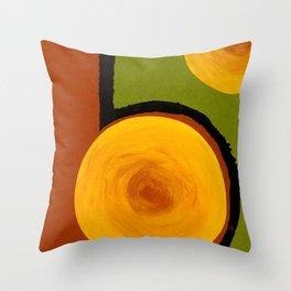 Emerald Five Throw Pillow
