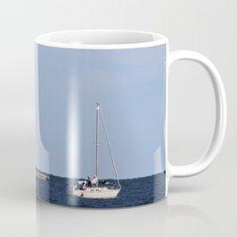 3 Sailboats Coffee Mug