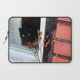 Come Inside Silly Human Laptop Sleeve