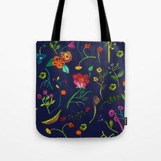 Floral love I pattern Tote Bag