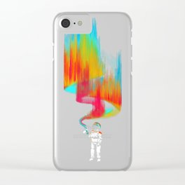 Space vandal Clear iPhone Case