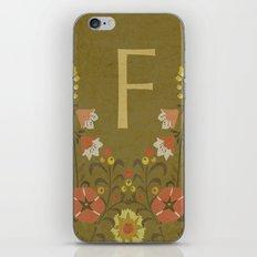 F. iPhone & iPod Skin