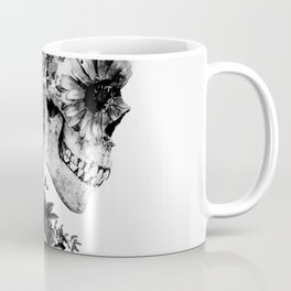 Skull BW Coffee Mug