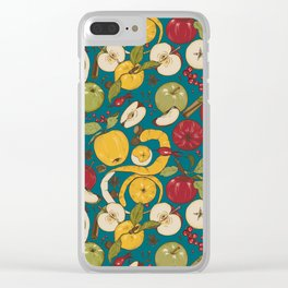 Apples, autumn harvest Clear iPhone Case