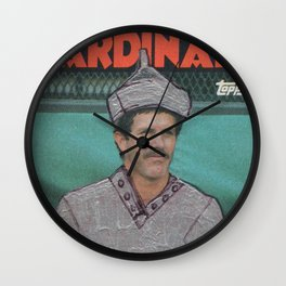 Tom Lawless as the Tin Man, Cardinals Wall Clock