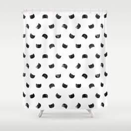 I See Cat People Shower Curtain