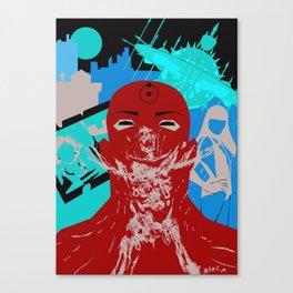 Dr Manhattan Canvas Print