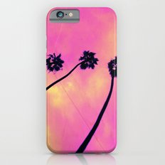Pink Palm Trees iPhone 6s Slim Case