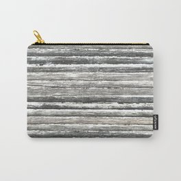 Grunge Stripes Design Print Carry-All Pouch
