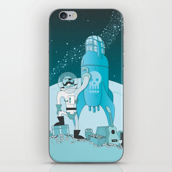 Space Pirate! iPhone & iPod Skin