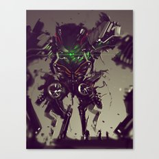 Mecha Titan Tremor Canvas Print